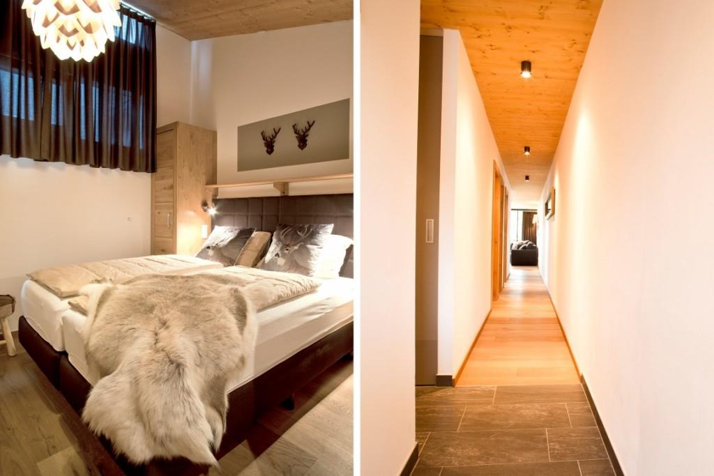slaapkamer 3 en hal